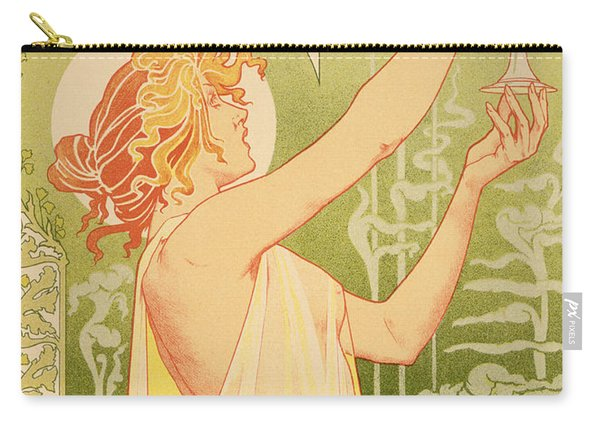 Reproduction Of A Poster Advertising 'robette Absinthe' Carry-all Pouch