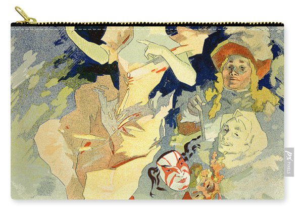 Reproduction Of La Danse, 1891 Carry-all Pouch