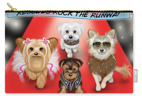 Rescues Rock The Runway Carry-all Pouch
