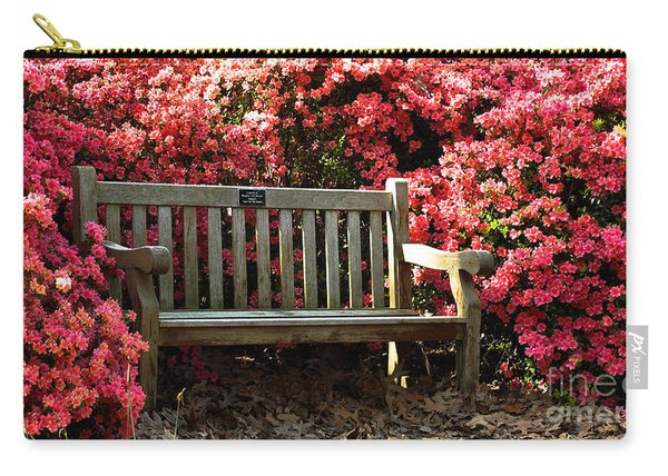 Rest Among The Flowers Carry-all Pouch