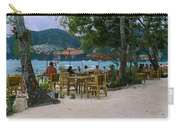 Restaurant On The Beach, Ko Phi Phi Carry-all Pouch