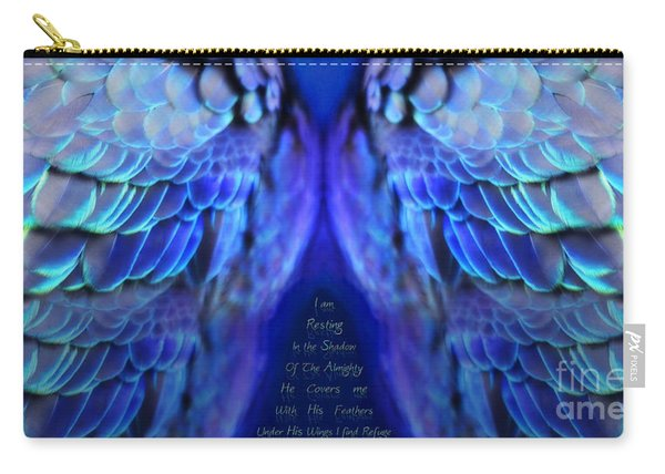 Psalm 91 Wings Carry-all Pouch