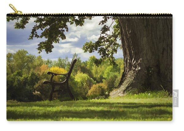 Resting Place For Mind And Body Carry-all Pouch