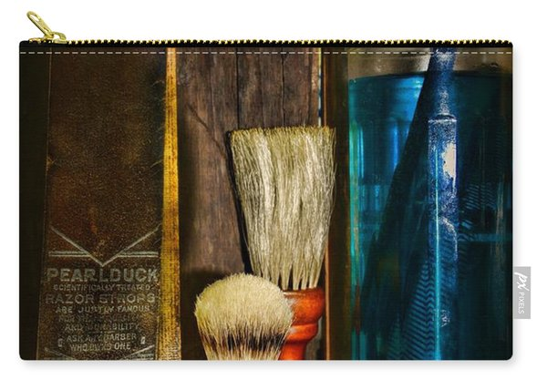 Retro Barber Tools Carry-all Pouch