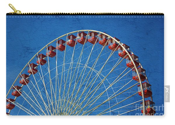 Retro Ferris Wheel Carry-all Pouch