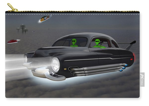 Retro Flying Objects 4 Carry-all Pouch