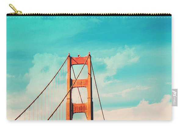 Retro Golden Gate - San Francisco Carry-all Pouch