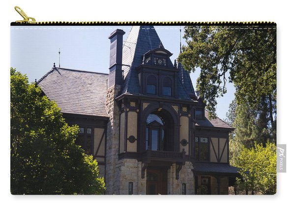 Rhine House At Beringer Winery St Helena Napa California Dsc1719 Square Carry-all Pouch