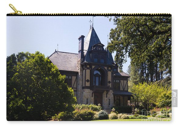 Rhine House At Beringer Winery St Helena Napa California Dsc1719 Carry-all Pouch