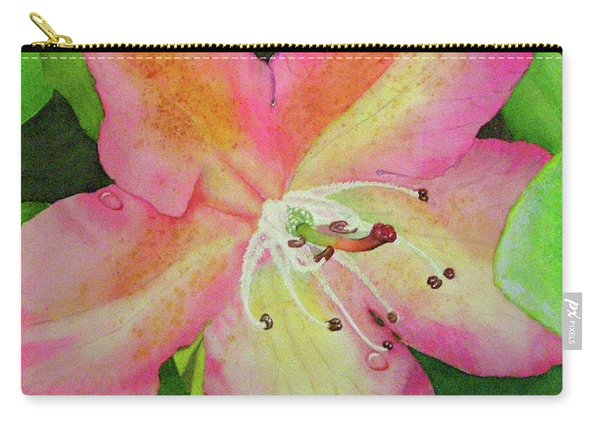 Rhodie With Dew II Carry-all Pouch