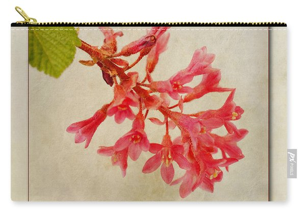 Ribes Sanguineum  Flowering Currant Carry-all Pouch