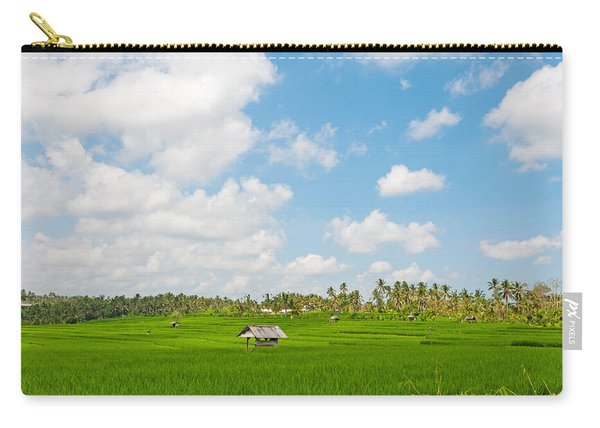 Rice Field, Rejasa, Penebel, Bali Carry-all Pouch