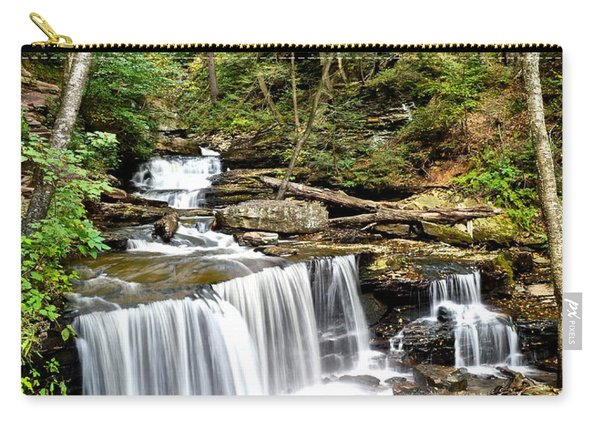 Ricketts Glen Delaware Falls Carry-all Pouch
