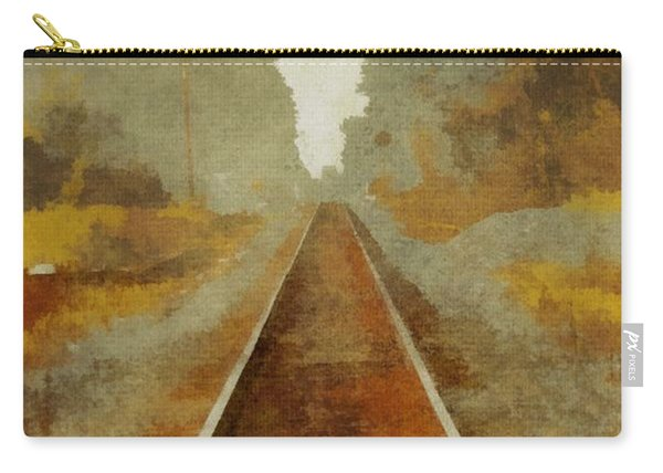Riding The Rails Carry-all Pouch