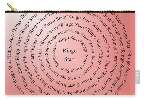 Ringo Starr Typography Carry-all Pouch