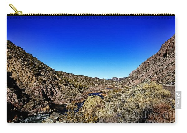 Rio Grande Gorge-taos New Mexico Carry-all Pouch