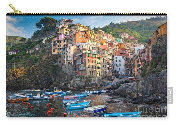 Riomaggiore Boats Carry-all Pouch