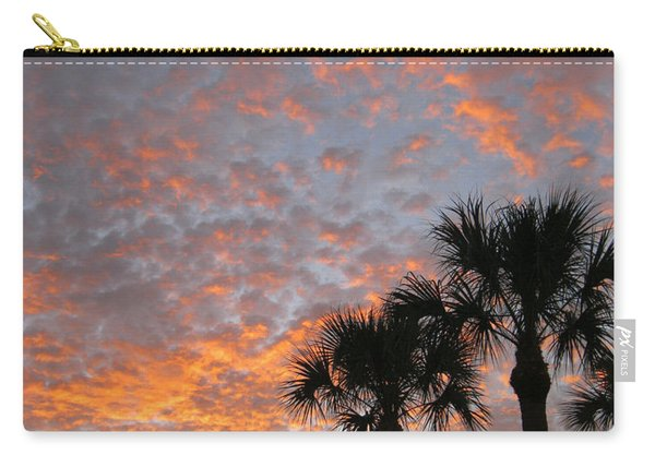 Rise And Shine. Florida. Morning Sky View Carry-all Pouch