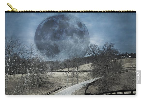 Rising To The Moon Carry-all Pouch