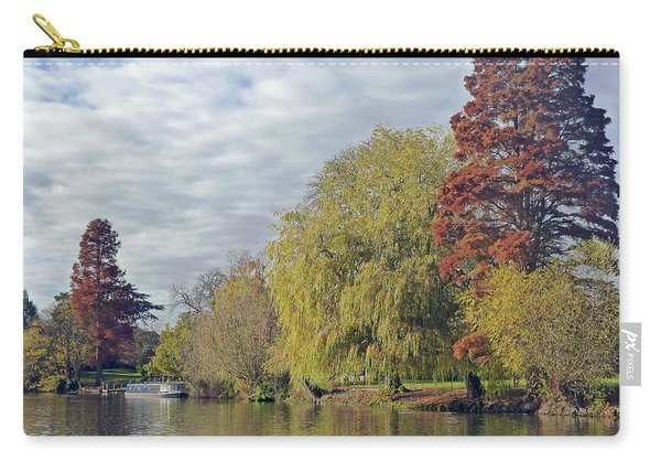 River Avon In Autumn Carry-all Pouch