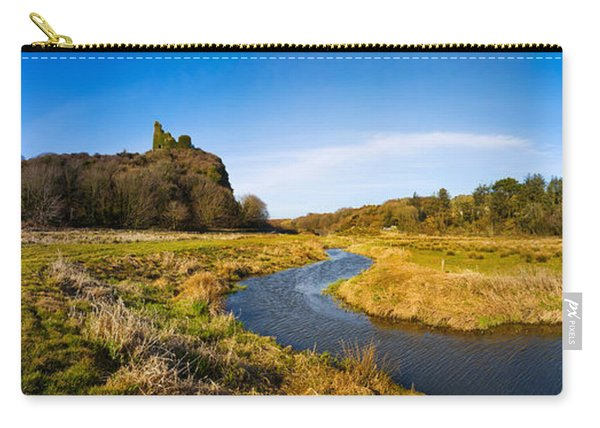 River Flowing Through Landscape Carry-all Pouch