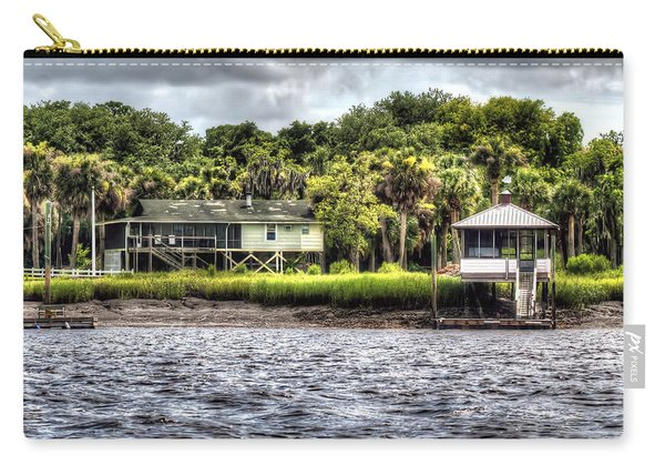 River House On Wimbee Creek Carry-all Pouch