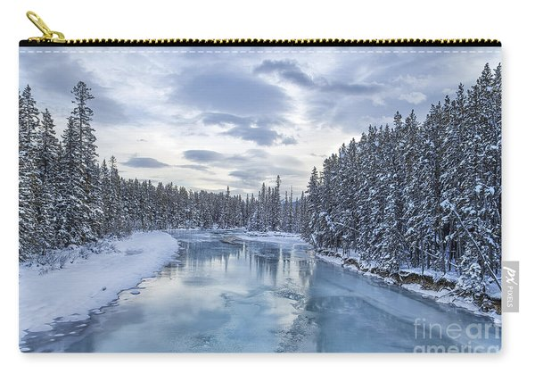 River Of Ice Carry-all Pouch
