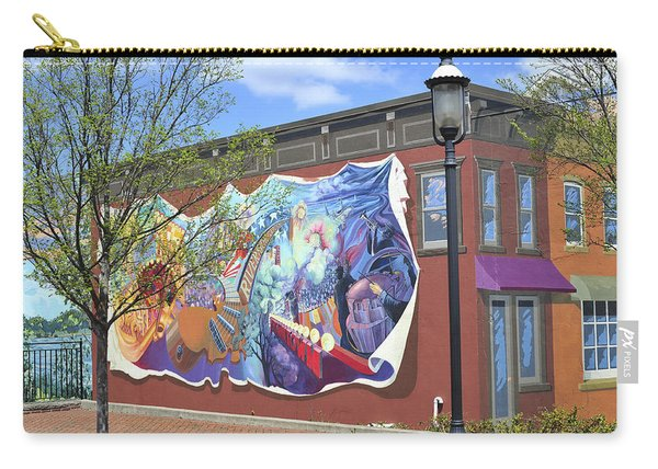 Riverside Gardens Park In Red Bank Nj Carry-all Pouch