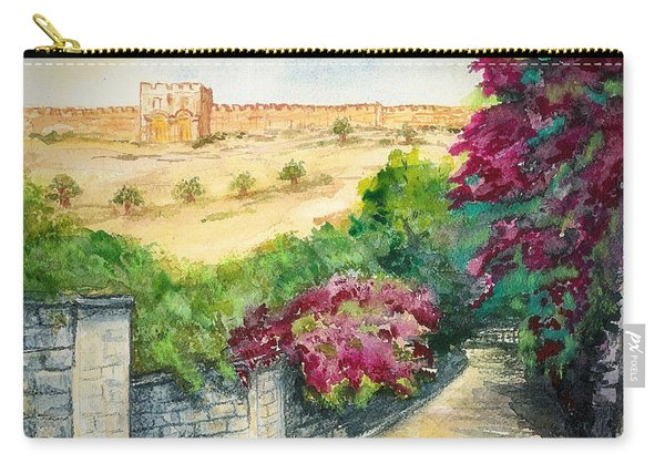 Road To Eastern Gate Carry-all Pouch