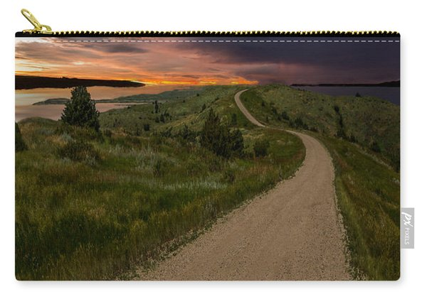 Road To Nowhere - Stormy Little Bend Carry-all Pouch