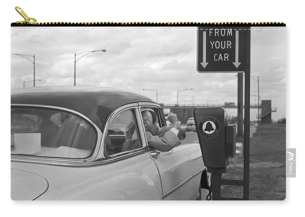 Roadside Public Telephone Carry-all Pouch