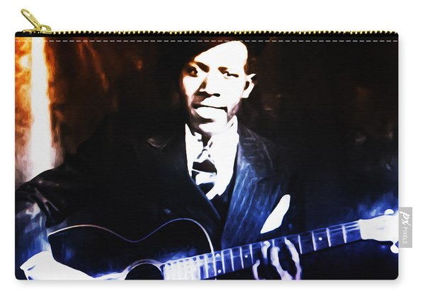 Robert Johnson - King Of The Blues Carry-all Pouch