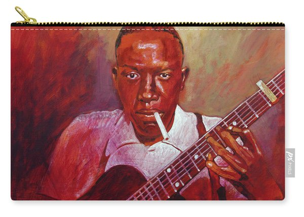 Robert Johnson Photo Booth Portrait Carry-all Pouch