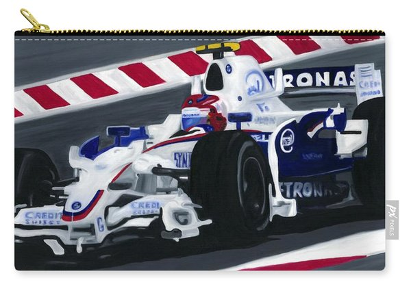 Robert Kubica Wins F1 Canadian Grand Prix 2008  Carry-all Pouch