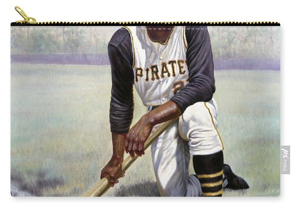 Roberto Clemente Carry-all Pouch