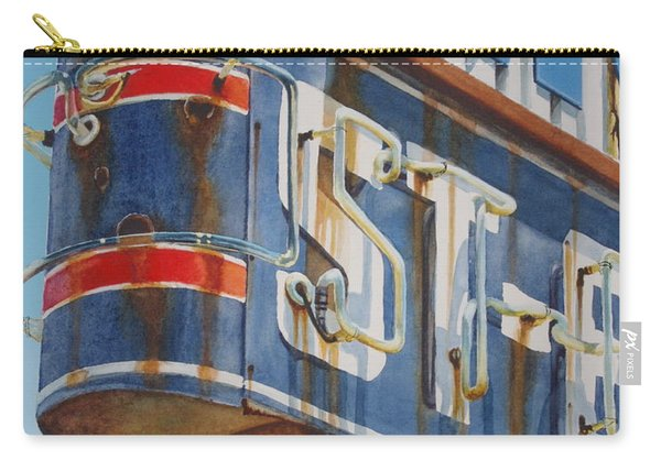 Robin And Motel Carry-all Pouch