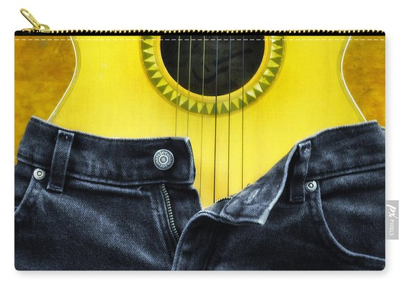 Rock And Roll Woman Carry-all Pouch