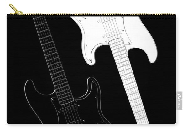 Rock And Roll Yin Yang Carry-all Pouch