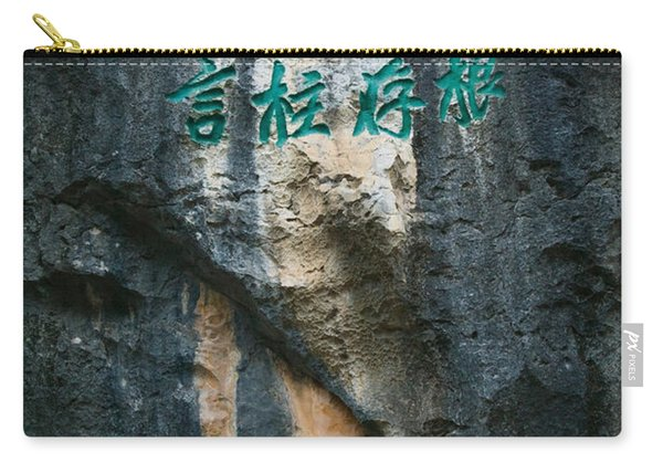 Rock Poems On The Stone Forest, Shilin Carry-all Pouch