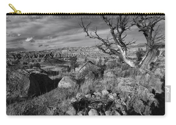 Rock Ring In Wind River Country Carry-all Pouch