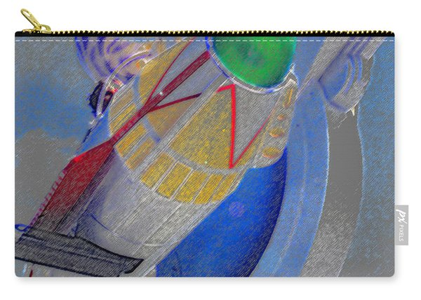 Rocket Ship To Fun Carry-all Pouch