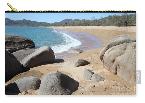 Rocks On The Beach Carry-all Pouch