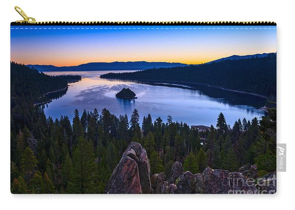 Rocks Over Emerald Bay Carry-all Pouch