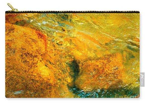 Rocks Under The Stream By Christopher Shellhammer Carry-all Pouch