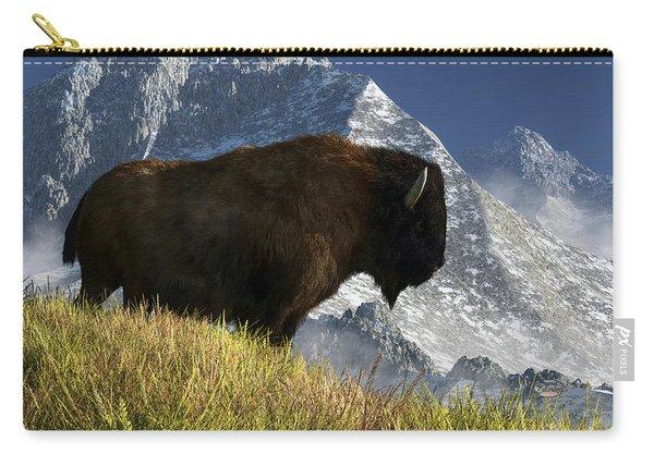 Rocky Mountain Buffalo Carry-all Pouch