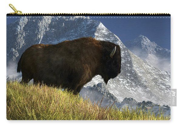 Rocky Mountain Buffalo Carry-all Pouch