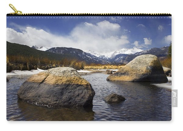 Rocky Mountain Creek Carry-all Pouch