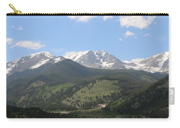 Carry-all Pouch featuring the photograph Rocky Mountain National Park - 3  by Christy Pooschke