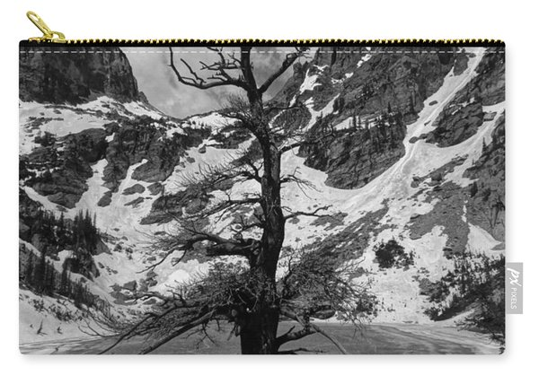 Emerald Lake In Winter Carry-all Pouch