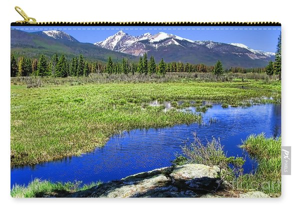 Rocky Mountains River Carry-all Pouch